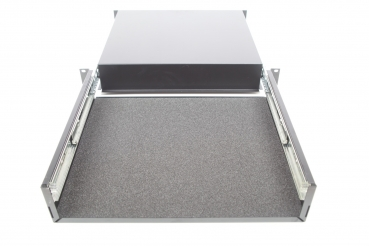 cover panel for rack drawer