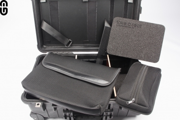 Peli 1510 Studio Case incl. Notebook organizer and partition wall system