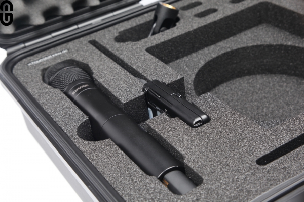 Shure QLX-D ULX-D Single Set Case incl. Inlay